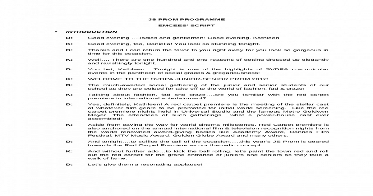 Emcee Script Js